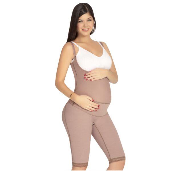 Faja materna o soporte materno larga