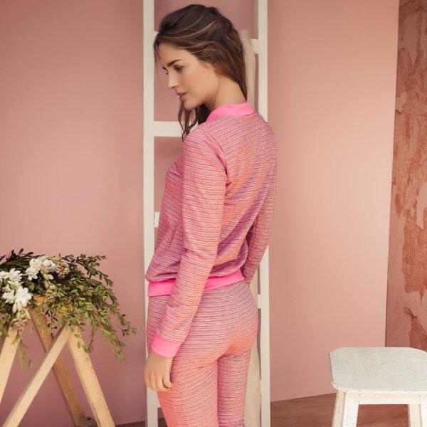 Pijama pantalon largo
