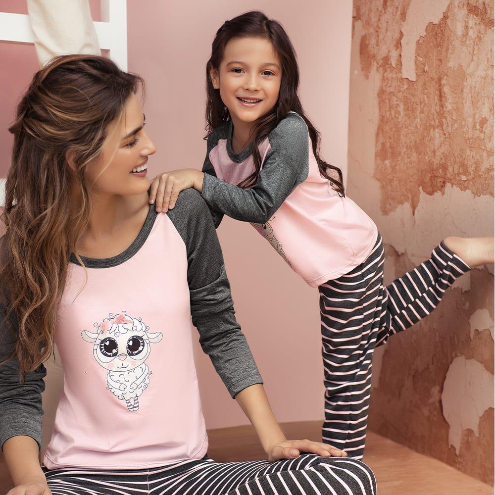 Pijama infantil pantalon largo